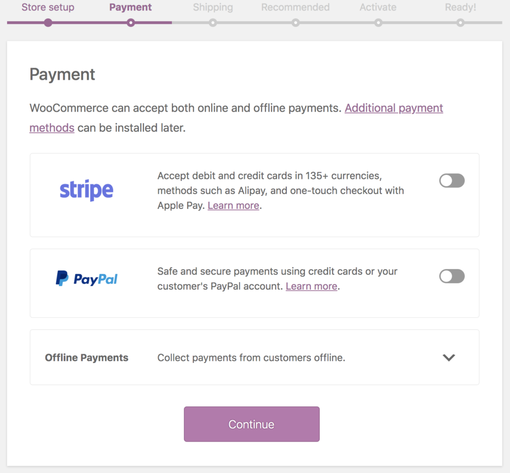 payment gateways for online stores for Campgrounds